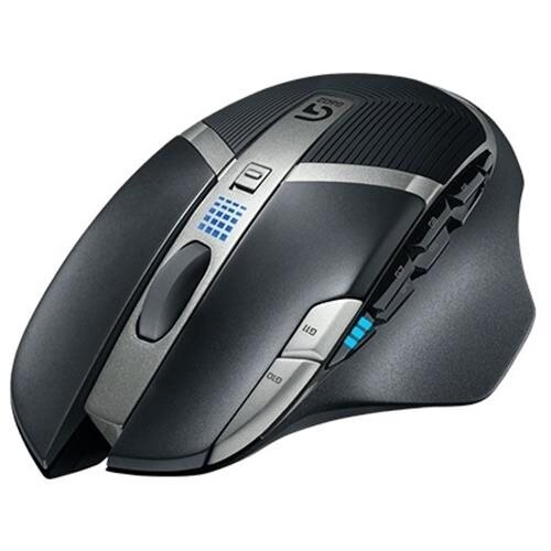 Logitech G602 Wireless Gaming Mouse - Optical - Wireless - Radio Frequency - Black - USB 2.0 - 2500 dpi - Scroll Wheel - 11 Button(s) - Right-handed Only 0