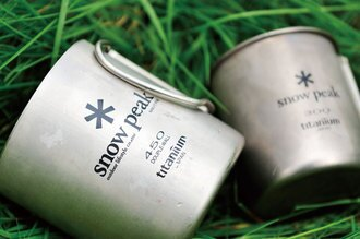 Snow Peak 雙層 鈦杯-折疊把 斷熱 保溫 雙層杯 Titanium Double Mug
