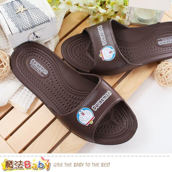 童鞋哆啦A夢正版軟Q室內外兩用拖鞋魔法Baby~sk0473