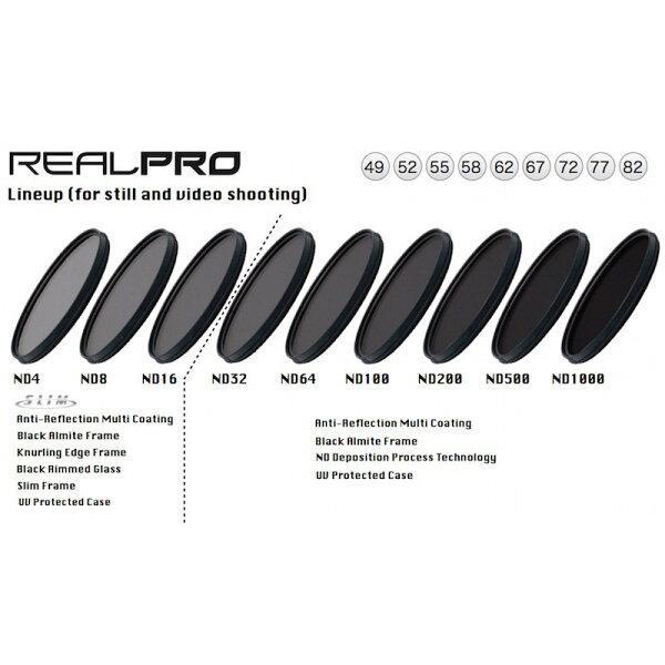 ◎相機專家◎KenkoRealPROND6452mm防水抗油汙多層膜減光鏡減6格正成公司貨