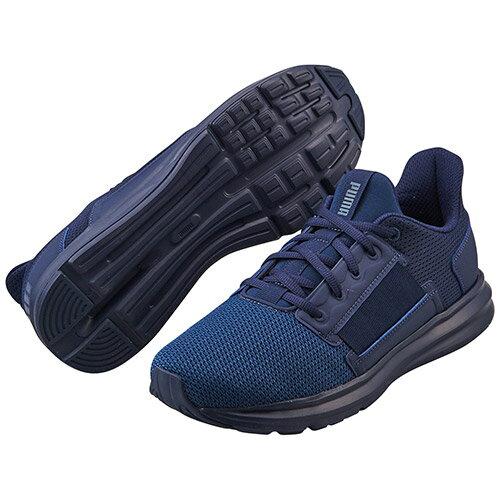 PumaEnzoStreet男鞋慢跑休閒輕量避震深藍【運動世界】19046102