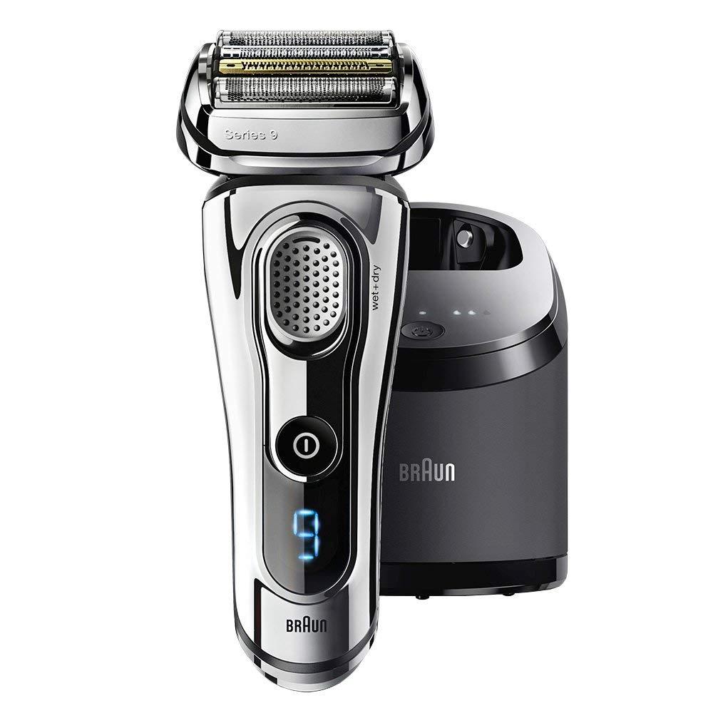 全新 德國 BRAUN 百靈 9297cc 9系列最頂級 音波電鬍刀 BRAUN-9系列 Wet & Dry 4片刀片 父親節 禮物
