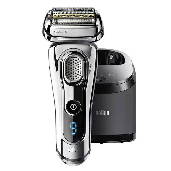 德國BRAUN百靈9297cc9系列最頂級音波電鬍刀BRAUN-9系列Wet&Dry4片刀片父親節禮物