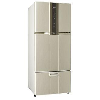 【聲寶SAMPO】580公升一級變頻三門冰箱。炫麥金/SR-N58DV(Y2)