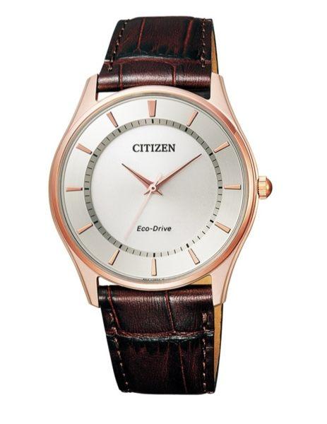 大高雄鐘錶城 CITIZEN 星辰錶 BJ6483-01A 簡約時尚光動能腕錶/ 白面37mm