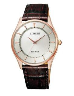 CITIZEN星辰錶BJ6483-01A簡約時尚光動能腕錶白面37mm