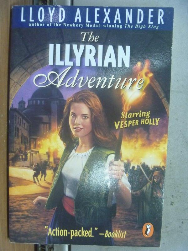 【書寶二手書T9/原文小說_NPW】The illyrian aducnture_Lloyd alexander