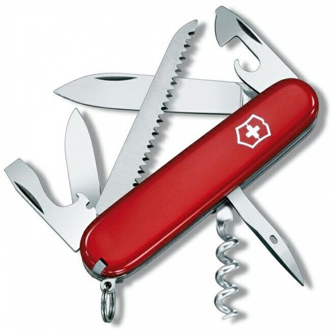 【鄉野情戶外用品店】 Victorinox |瑞士| CAMPER 露營者瑞士刀/1.3613 【13用】