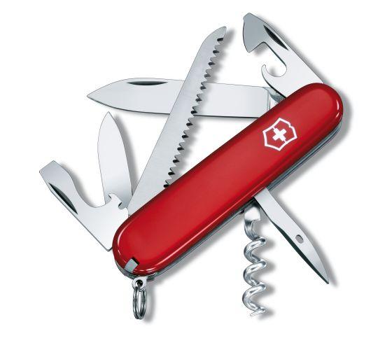 Victorinox 瑞士維氏 Camper 系列 1.3613 中型萬用刀 瑞士刀 13種功能 /支