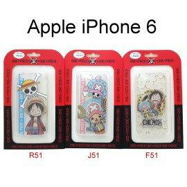 海賊王透明軟殼 iPhone 6 / 6S (4.7吋) 航海王 魯夫 喬巴 保護殼【正版授權】