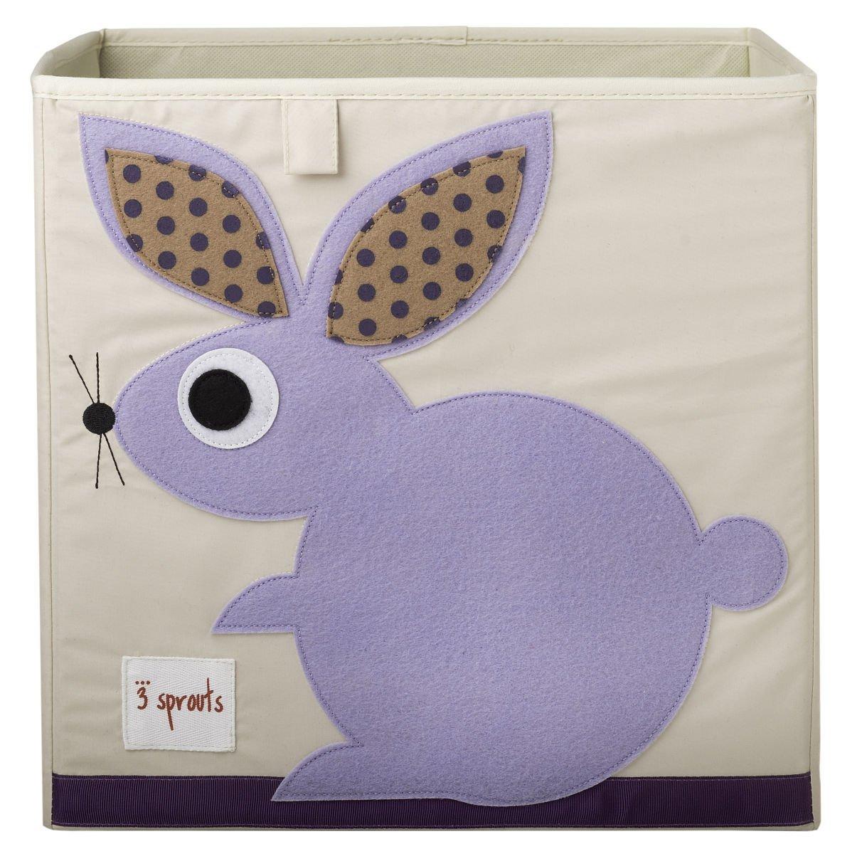 加拿大 3 Sprouts 收納箱 紫色兔兔 *夏日微風*