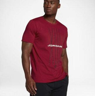 NIKE JORDAN AJ3 男裝 短袖 休閒 喬丹 棉質 舒適 紅 【運動世界】908423-687