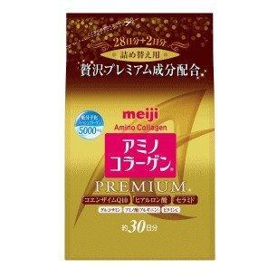Meiji 明治膠原蛋白粉 尊爵黃金版 補充包 214g/30日份