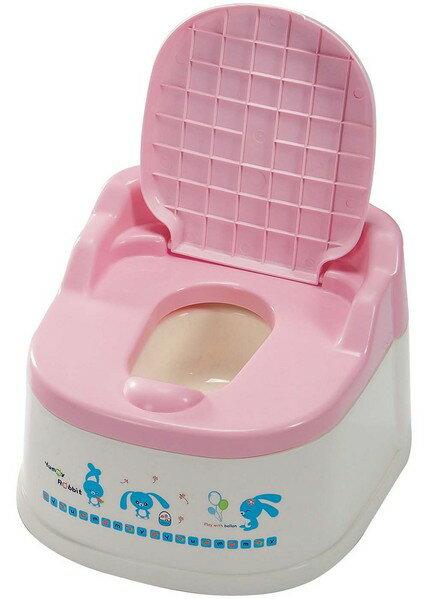 『121婦嬰用品館』亞米兔 幼兒坐式便器(粉/藍) 1