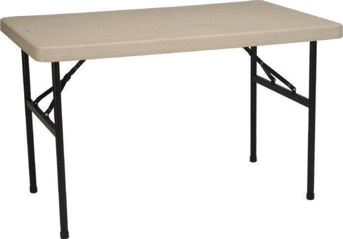 【MK3048】122X76公分超實用環保折疊收納桌/補習班/辦公室工作桌/教學用桌/佛堂用桌/展覽桌/戶外活動桌★★♪♪外銷優質收納桌♪♪