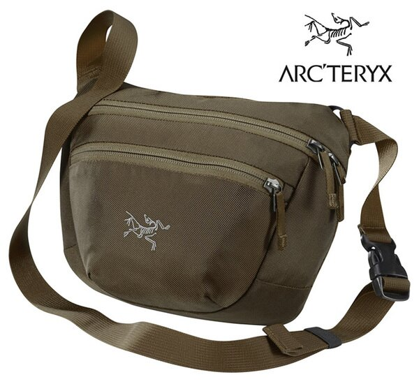 【ARCTERYX始祖鳥加拿大】MAKA2腰包/Maka隨身包旅行包護照包側背包-鎢褐/L06827000【容量2.5L】