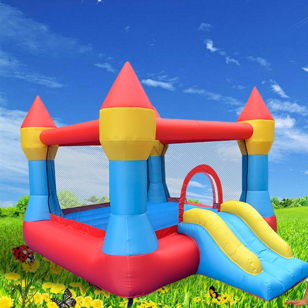 Kids Bounce House Jumper Castle Inflatable Bouncer Without Blower 3