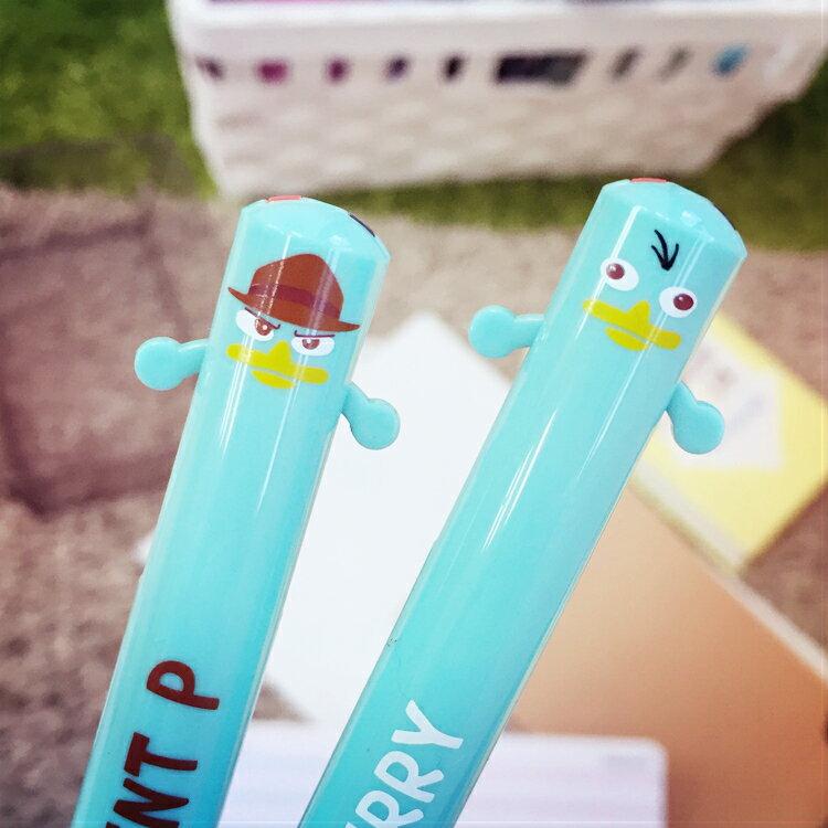 PGS7 日本迪士尼系列商品 - 泰瑞 造型 雙色原子筆 原子筆 雙色筆 筆 特務p 飛哥與小佛【SHJ6424】