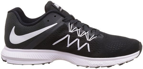 NIKE AIR ZOOM WINFLO 3 男鞋 慢跑鞋 編織 飛線 黑 白 【運動世界】 831561-001
