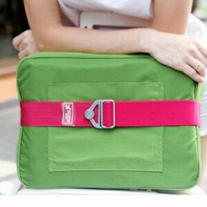 美麗大街~BF556E20~彈力行李箱安全捆綁帶 旅行箱拉桿箱一字打包帶 丙綸帶(金屬扣短