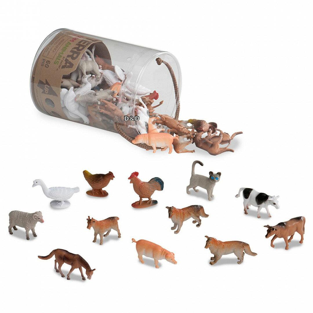 《 TERRA 》農場動物 60pcs