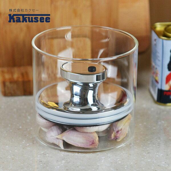 【日本Kakusee料理道具】沉蓋式密封玻璃罐(S)-600cc