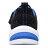 Shoestw【97842LBBLM】SKECHERS TECHTRONIX 中童鞋 運動鞋 慢跑鞋 記憶鞋墊 黑藍綠 黏帶 3
