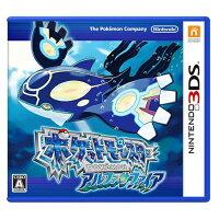 Pokemon:精靈寶可夢到3DS 《神奇寶貝 始源藍寶石 》日版(日規機專用)【三井3C】