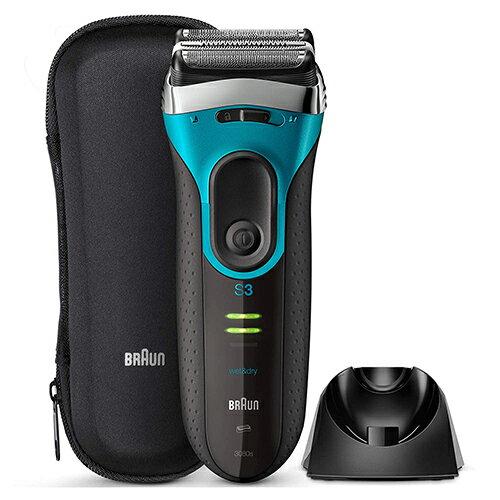 BRAUN【日本代購】百靈 電動刮鬍刀 修剪器3系列 可沐浴用附收納盒-3010s