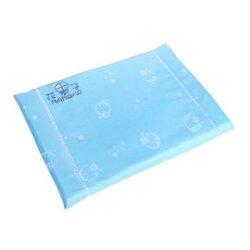 夢貝比花果子系列乳膠枕-N波浪方枕 SF-2925(藍色) 587元【美馨兒】