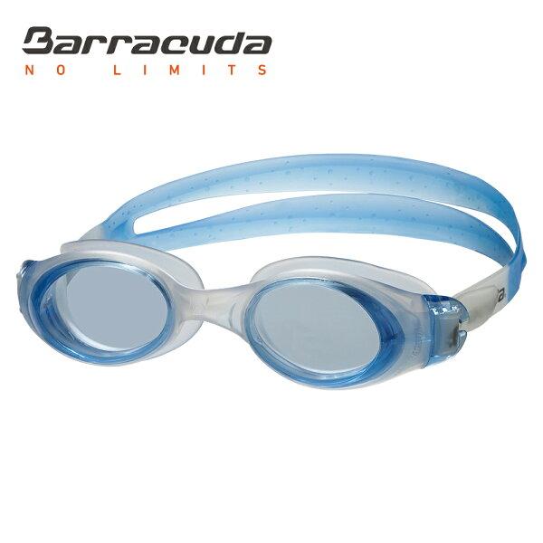 Barracuda1976:美國巴洛酷達BarracudaSUBMERGEJR#12955青少年抗UV防霧泳鏡