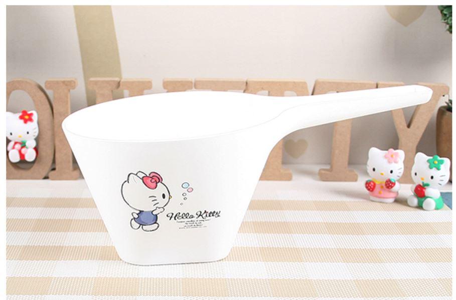 X射線【C090076】Hello Kitty 水勺,水桶/水瓢/握把水瓢