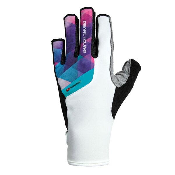 【7號公園自行車】PEARLIZUMIW229-5女性抗UV厚墊9分指手套