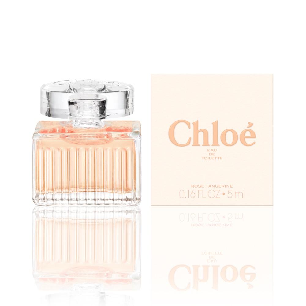 Chloe 沁漾玫瑰 淡香水 5ml 迷你小香 ◐香水綁馬尾◐