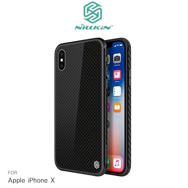 【微笑商城】NILLKINAppleiPhoneX晶曜保護套手機殼保護殼背殼