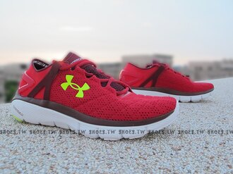 《下殺7折》Shoestw【1258785-600】UNDER ARMOUR UA Speedform Fortis 紅黃 慢跑鞋