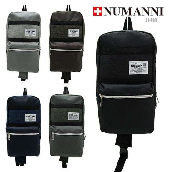80-5011【NUMANNI 奴曼尼】輕巧尼龍單雙肩背包 (五色)