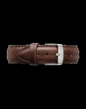 40MM 0131DW 黑錶面 真皮深咖啡錶帶 瑞典正品代購 Daniel Wellington 男錶手錶腕錶 2