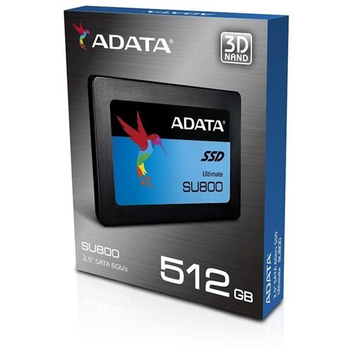 "ADATA Ultimate SU800 3D NAND 2.5"" Internal SSD 512GB (ASU800SS-512GT-C) 3"