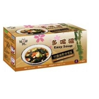 【川田佳】竹鹽味噌海帶芽湯(12.5g8包/盒)