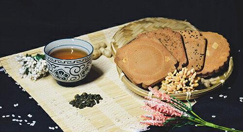 彰化田中 一品名 煎餅 180-200g±3% / 袋(花生) [大買家] 3
