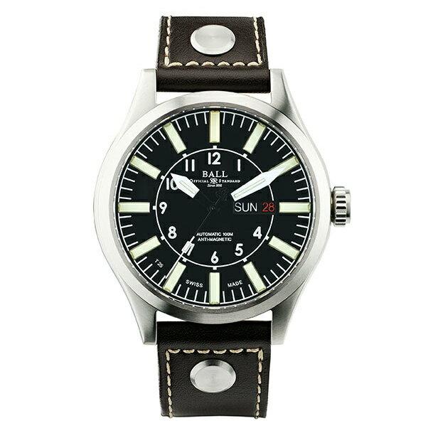 BALL 波爾錶NM1080C-L3-BK Engineer II大燈管經典大錶徑腕錶/黑面46mm