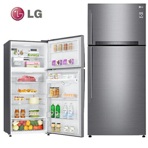 LG樂金GN-HL567SV冰箱524L直驅變頻上下門一級能效星辰銀