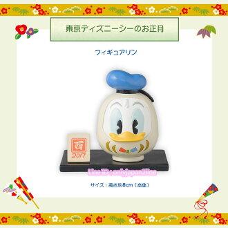 【真愛日本】新年正月福神唐老鴨擺飾 迪士尼樂園限定新年 新品 擺飾