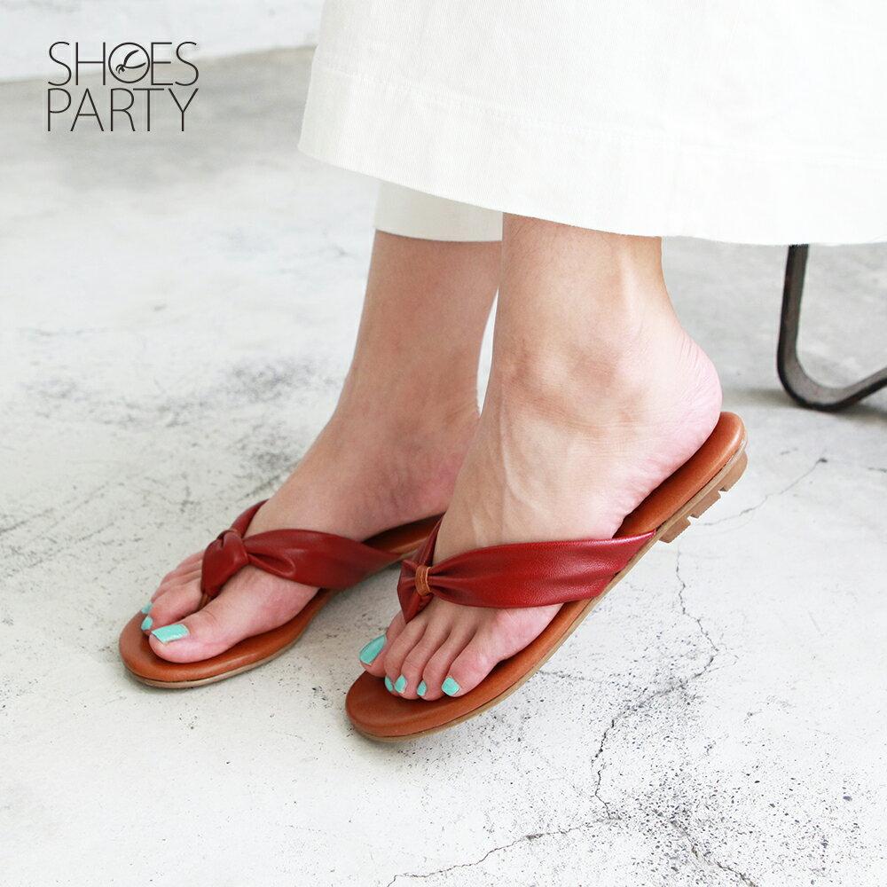 【S2-19601L】全真皮扭結拖鞋_Shoes Party 5