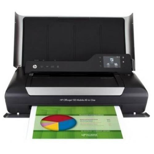 HP Officejet 150 Inkjet Mobile All in One Printer   Printer Scanner Copier   Color   Plain Paper Pri