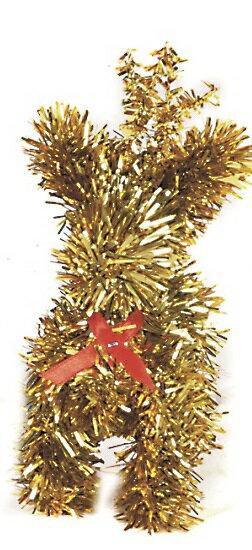 X射線【X100128】聖誕小麋鹿-金 (五吋),聖誕/佈置/聖誕裝飾/擺飾/交換禮物