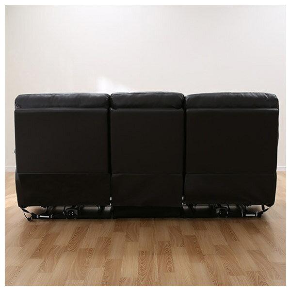 ◎(OUTLET)全皮3人用頂級電動可躺式沙發 BELIEVER DBR 福利品 NITORI宜得利家居 9