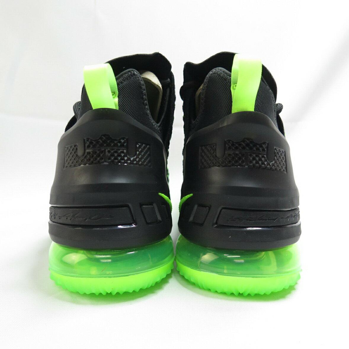 NIKE LEBRON XVIII EP 男款 籃球鞋 CQ9284005 黑綠【iSport愛運動】