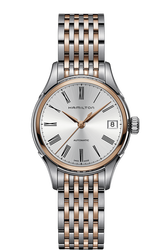 Hamilton 漢米爾頓 JazzMaster 優雅女用機械腕錶 H39425114 金 銀 白 34mm